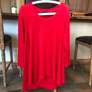 Nordstrom red tunic/dresses